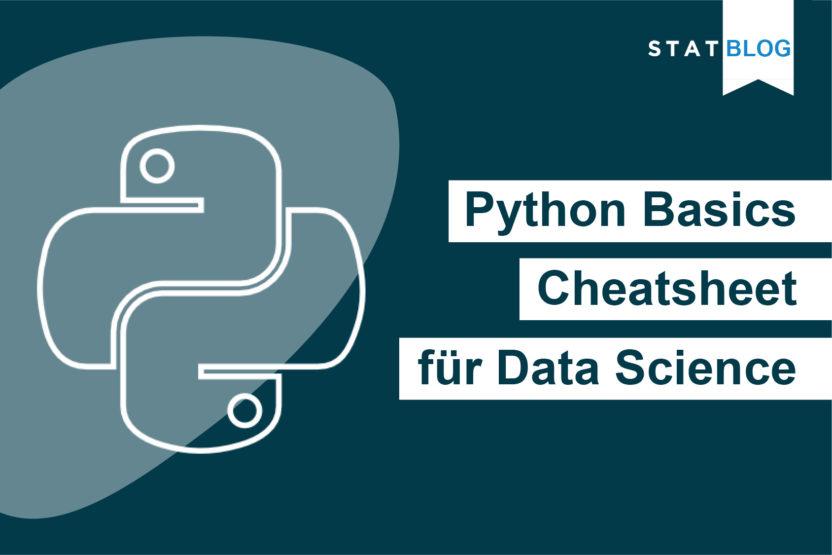 STATWORX Python Cheatsheet Titelbild