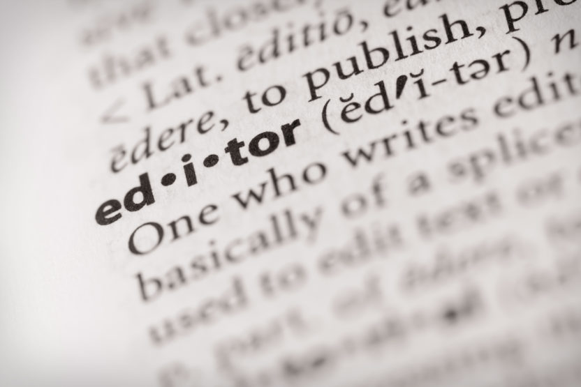 Wörterbuch editor
