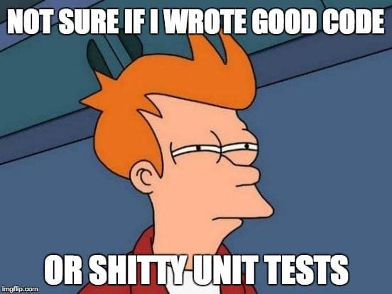 good code or shity unit test