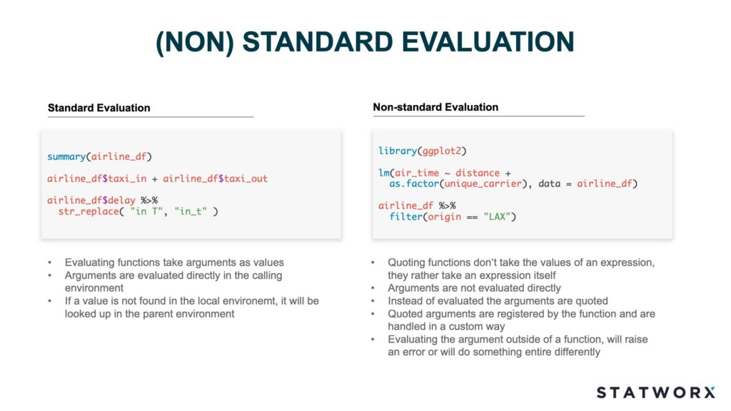 non-standard-evaluation