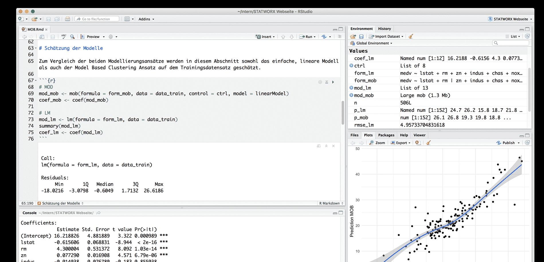 R Programmiersprache