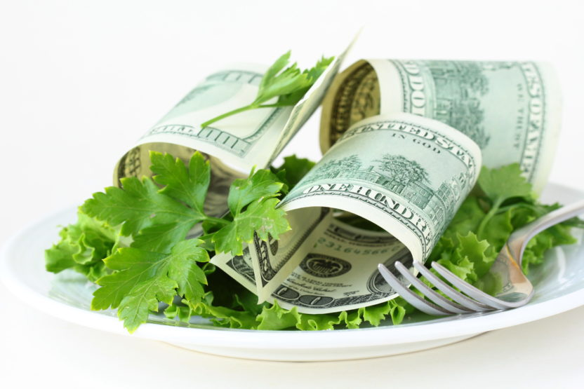 salad pricing