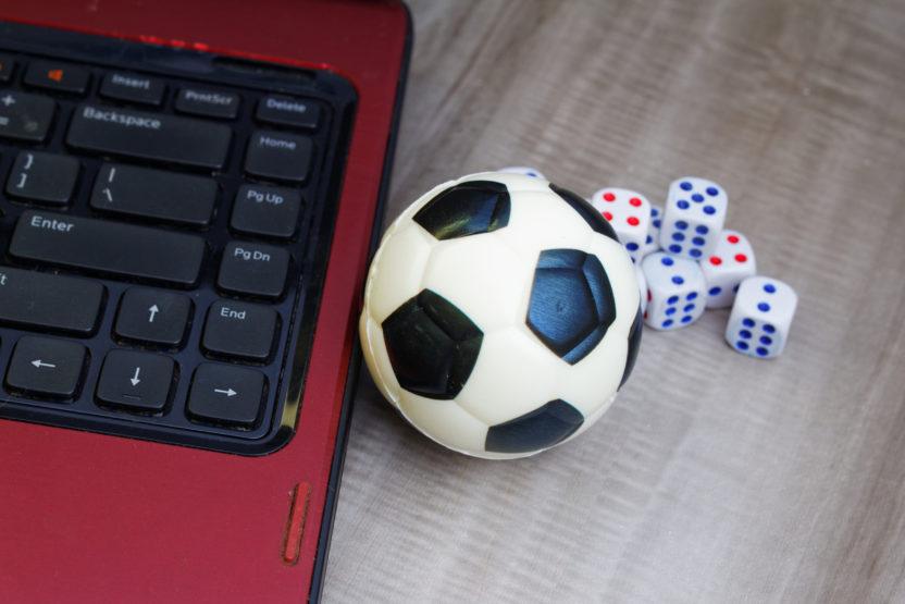 title soccer dice